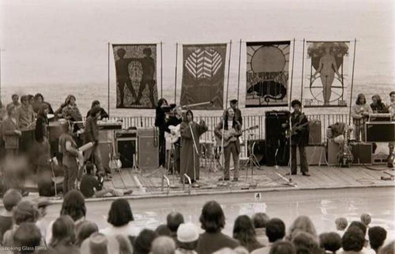Crosby Stills Nash And Young Live Big Sur Festival 1969 The