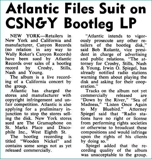 CSNY files suit
