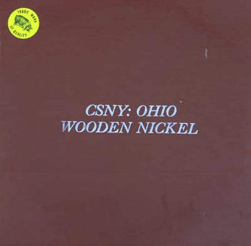 CSNY Ohio Wooden Nickel brown