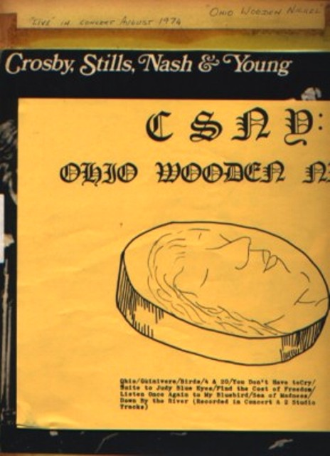 CSNY Ohio Wooden Nickel insert