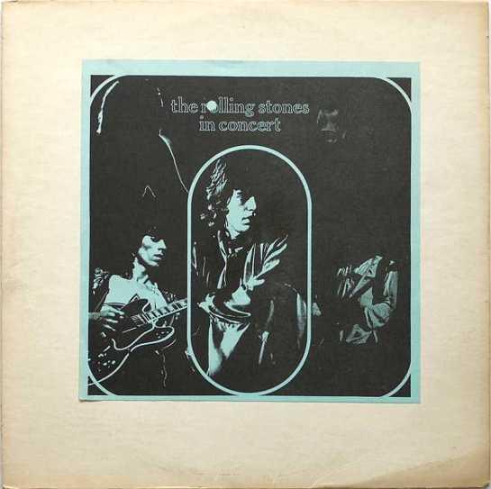 Rolling Stones In Concert 70 insert