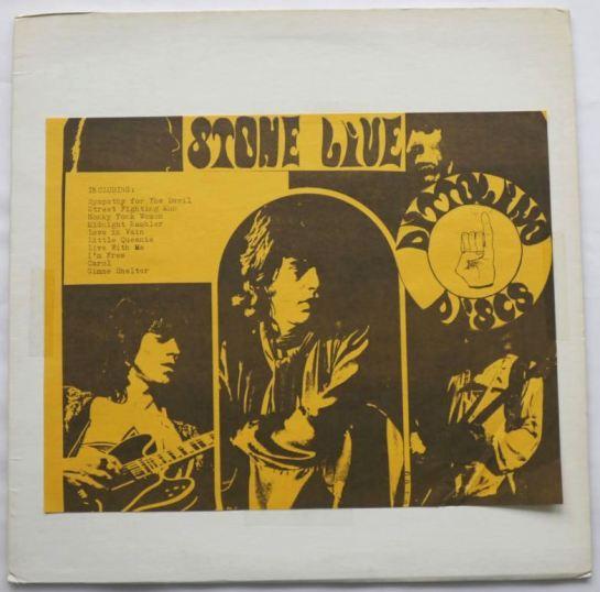 Rolling Stones Stone Live