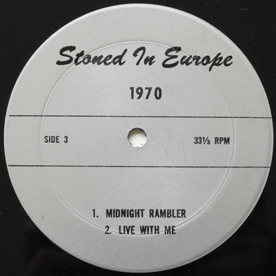 Rolling Stones Stoned in Europe lbl 2