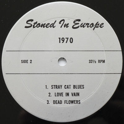Rolling Stones Stoned in Europe lbl 3