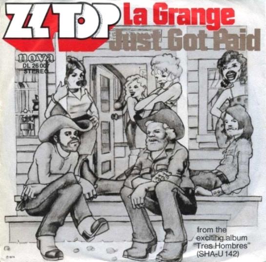 ZZ Top La Grange DE 45