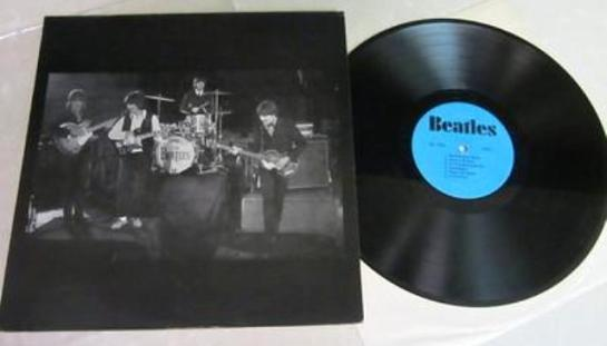 Beatles 66 blue lbl