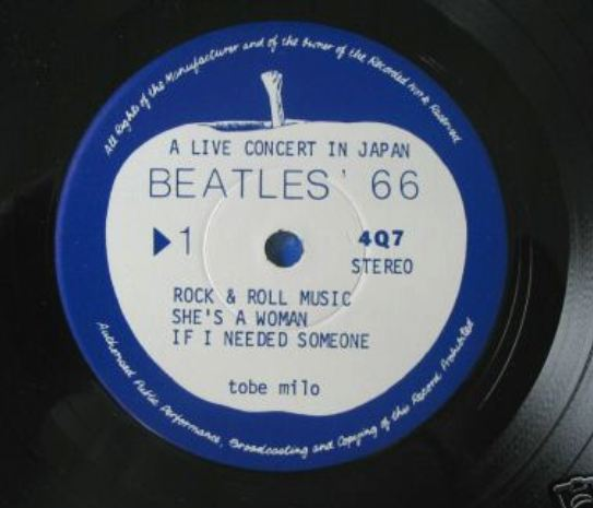 Beatles 66 EP lbl 1