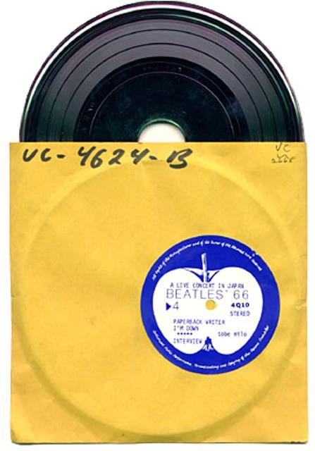 Beatles 66 EP stamper
