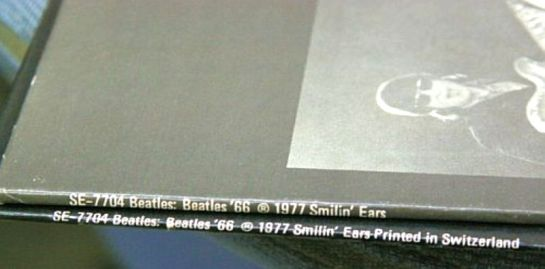 Beatles 66 Spines