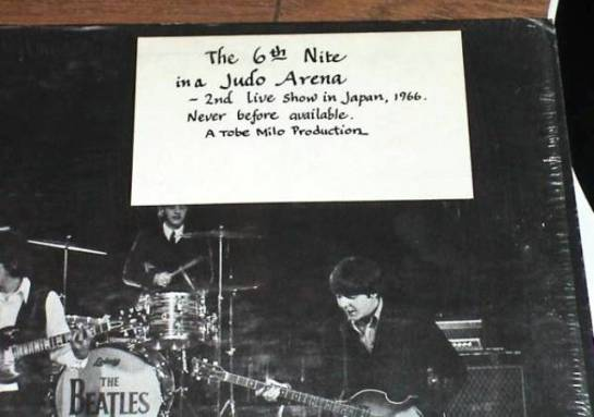 Beatles 66 TM note
