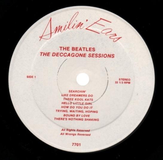 Beatles Deccagone lbl