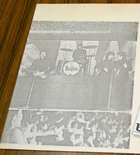 Beatles OG 545 insert 1