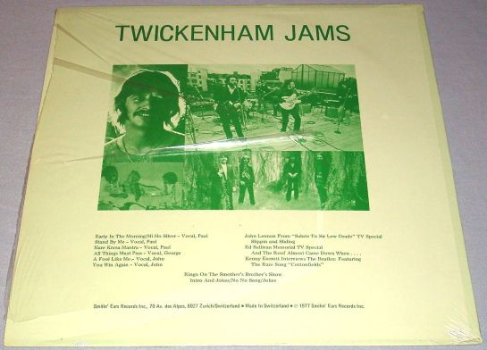 Beatles Tw Jams LP b