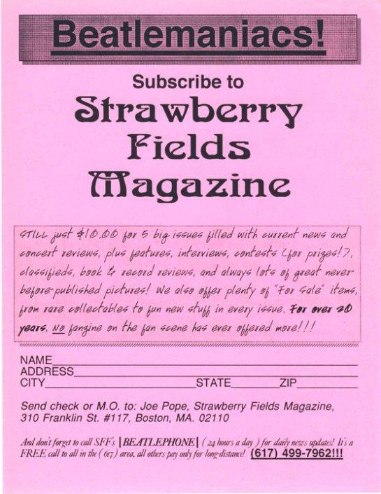 SFF mag ad