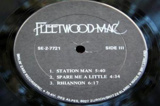 Fleetwood Mac Sm Ea lbl 2