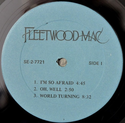 Fleetwood Mac Sm Ea lbl