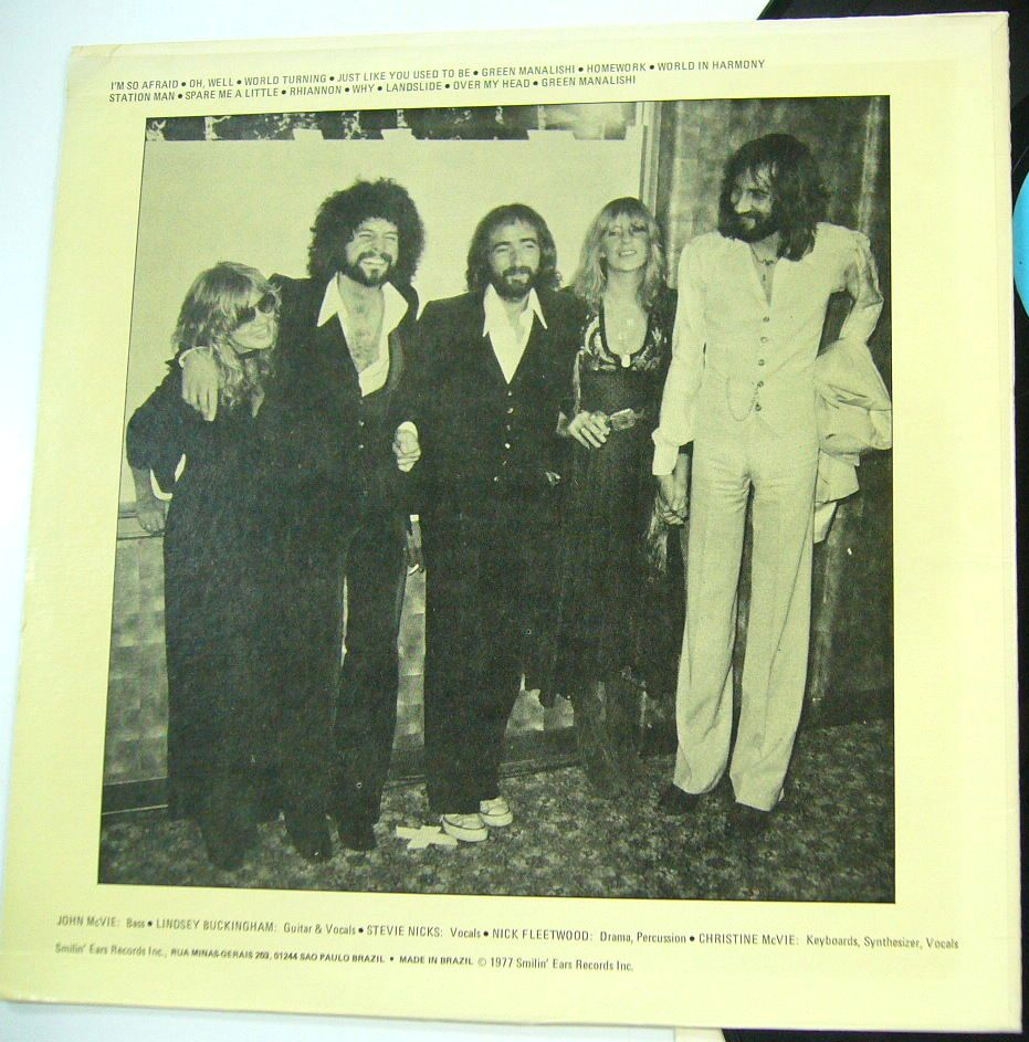 Fleetwood Mac Smilin Ears Se 2 7721 The Amazing