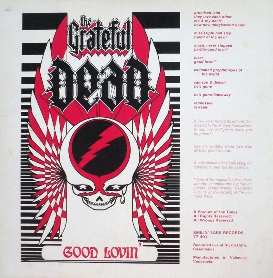 Grateful Dead Good Lovin 2