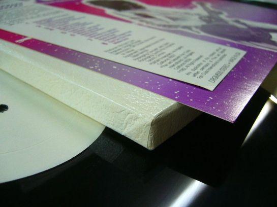 Led Zep Destroyer box cardb detail