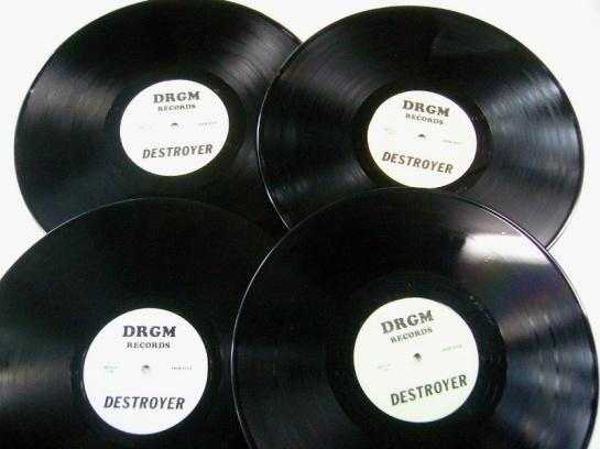 Led Zep Destroyer box discs