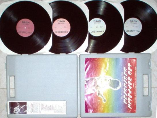 Led Zep Destroyer box n discs