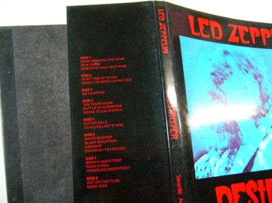 Led Zep Destroyer orig detail