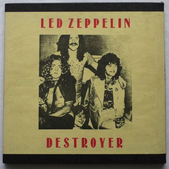 Led Zep Destroyer Seattle black