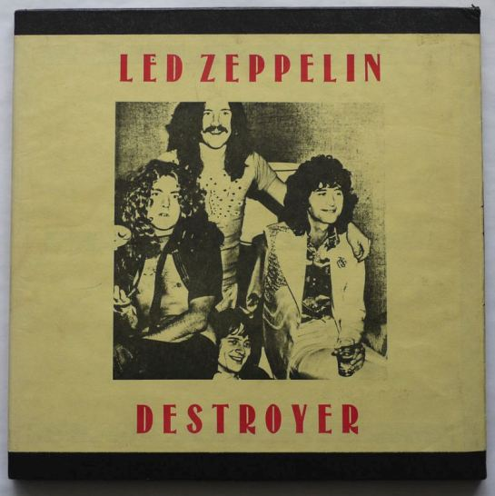 Led Zep Destroyer Seattle black