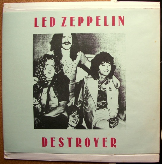 Led Zep Destroyer Seattle