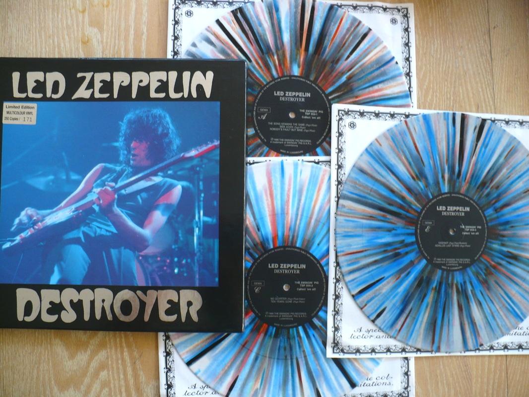 Led Zeppelin Destroyer Cleveland 1977 soundboard tape bootleg | THE