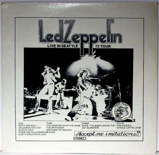 Led Zep Live in Seattle 1973 Tour II