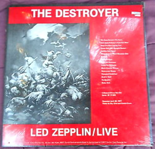 Led Zep The Destroyer 4LP sw