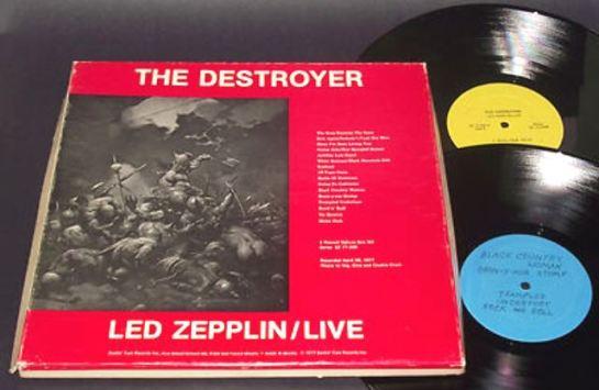 Led Zeppelin The Destroyer 4 Lp Box Smilin Ears 77 300