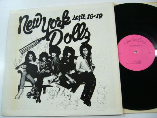 NY Dolls Dallas 74 b