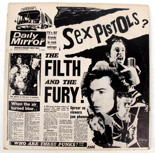 Sex Pistols Filth + the Fury 2