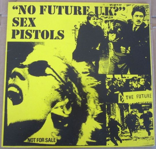 Sex Pistols No Future UK