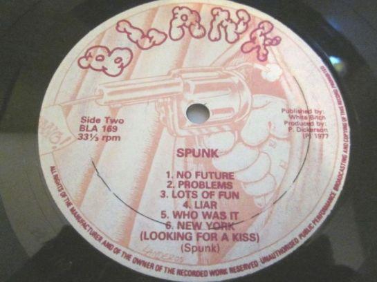 Sex Pistols Spunk lbl 2