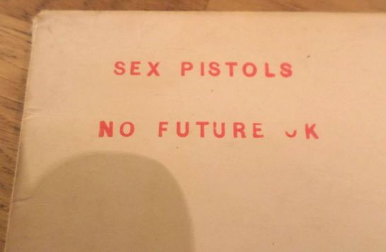 Sex Pistols Spunk NF UK