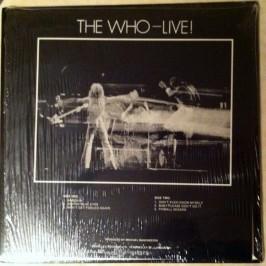 Who LIVE! b