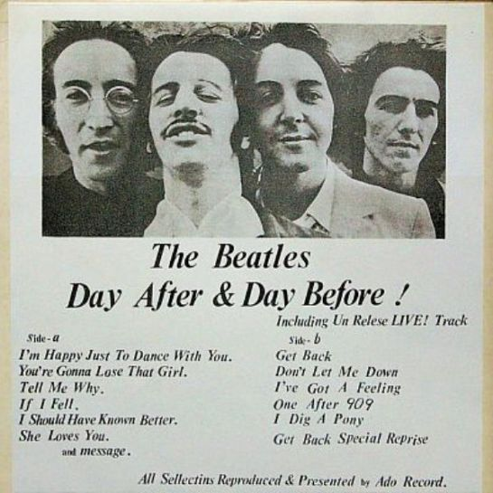 Beatles Day After b