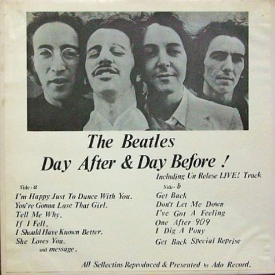 Beatles Day After f