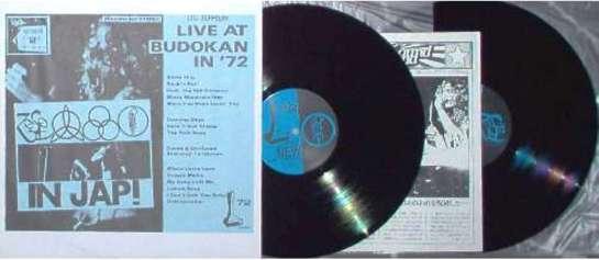 Led Zep Live@Budokan 72 ins