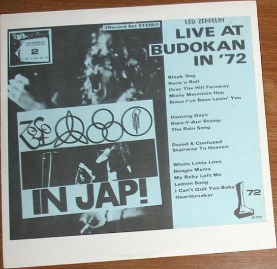 Led Zep Live@Budokan NOG 72