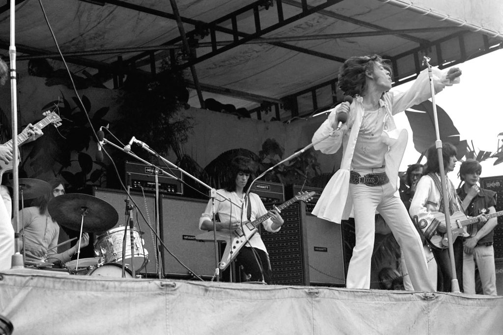 Rolling Stones Hyde Park 1969 Early Vinyl Bootlegs The