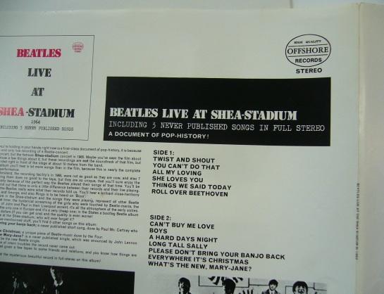 Beatles OG 718 detail