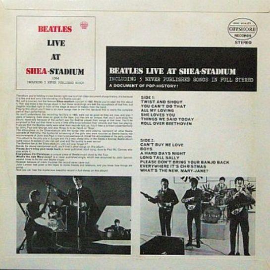 Beatles Shea OG 802 b