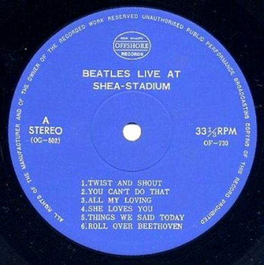 Beatles Shea OG 802