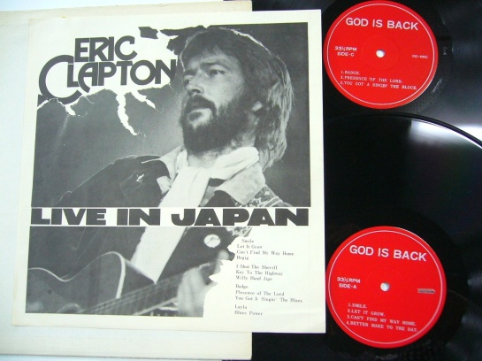 Clapton Live In Japan 818