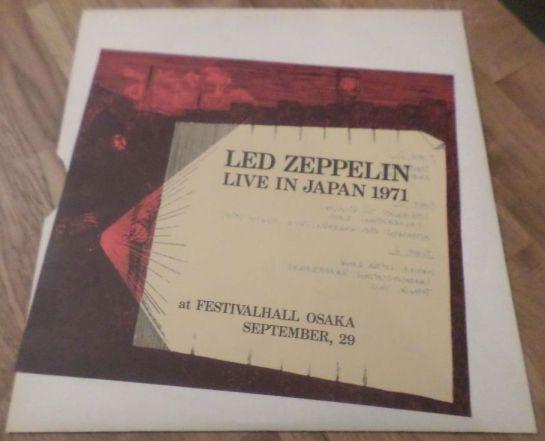 Led Zep J 71 red lbl II