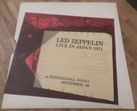 Led Zep J 71 red lbl II